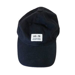 Urban Outfitters Black Utility Hat